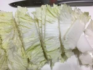 もつ鍋用の白菜